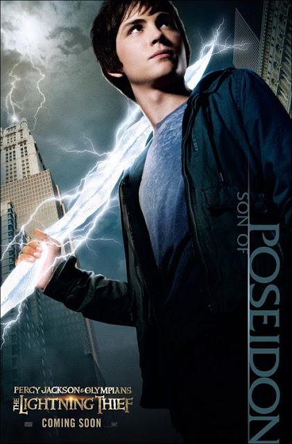 Filme Poster Percy Jackson e o Ladrão de Raios DVDRip RMVB Legendado