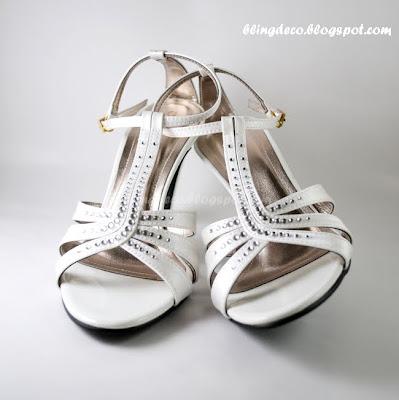 Bling Bling Bridal Shoe