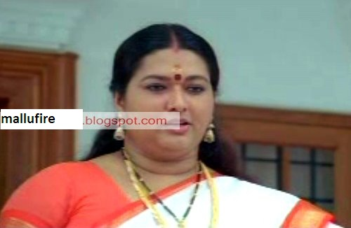 Serial And Cine Actress Unknown Malayalam Film Rare Navel
