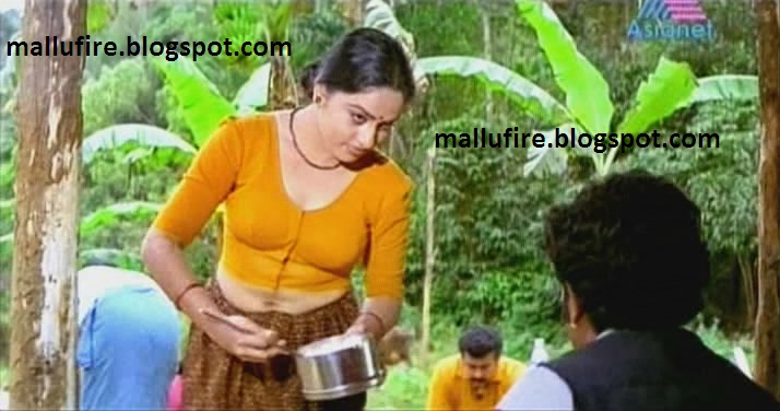 unknown malayalam serial actress trying to seduce the hero by showing ...