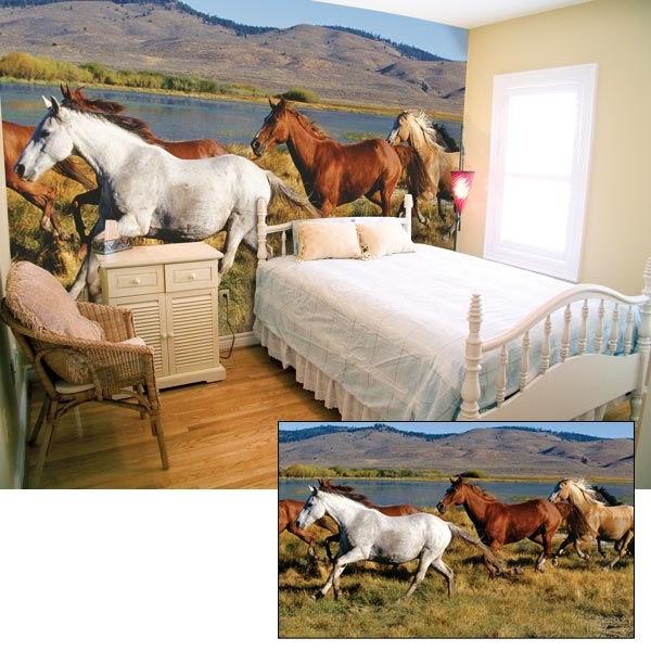 best horse gifts new wild horses wall murals online get cheap horse wall murals aliexpress com