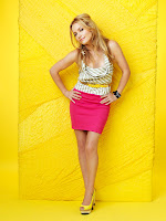 Becki Newton in Wonderful Sunny World Life Colorful Fashion Model Photoshoot Session