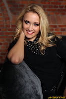 new photo shoot Emily Osment in black