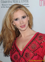 Ashley Jones little red dress