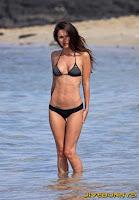 Megan Fox at the beach