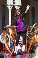 Debby Ryan parade