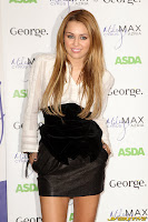 Miley Cyrus george at asda promos