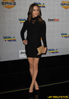Eliza Dushku in little black dress