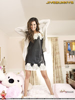 Ashley Tisdale bed photo shoot