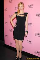Heather Morris little black dress