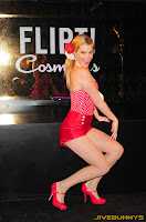 Heather Morris sexy pink shorts and top