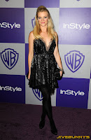 Amy Smart at InStyle event