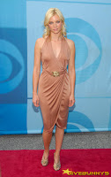 Amy Smart in a revealing dress