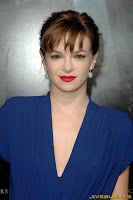 Danielle Panabaker little blue dress