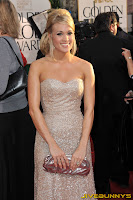 Carrie Underwood at the Golden Globe Awards
