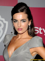 Camilla Belle InStyle Warner Brothers Golden Globes Party at The Beverly Hilton hotel