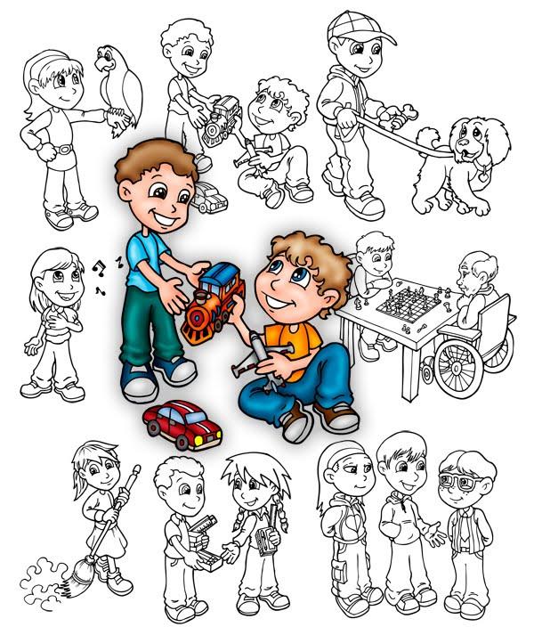 RemyBlas: ilustración y diseño: Dibujos solidarios...