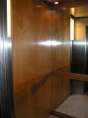 Revestimiento de ascensores