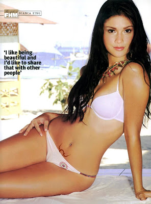 Filipino Actress Bianca King Biography and Bikini Photos