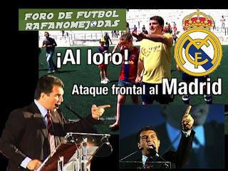video declaraciones Laporta Real Madrid modelo imperialista con ciertos aires de prepotencia