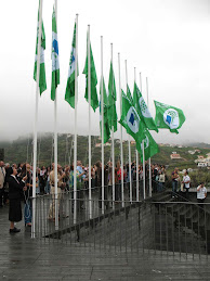 Hasteamento das Bandeiras Verdes