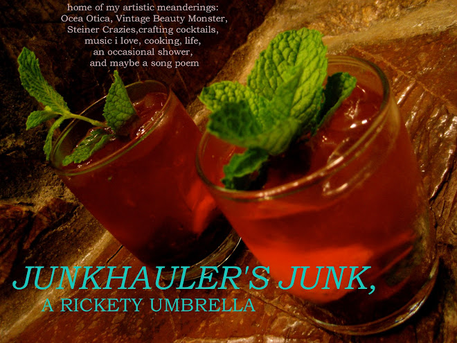 junkhauler's junk, a rickety umbrella