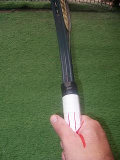 Empuñaduras del tenis