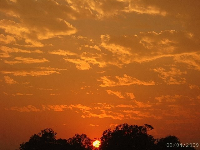 [Orange+delight+in+the+western+sky+ar+Gurgaon(a+Delhi]