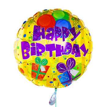 birthday balloons cartoon. happy irthday balloons gif.
