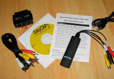 EasyCAPVideoCapture  VHS med USB till datorn