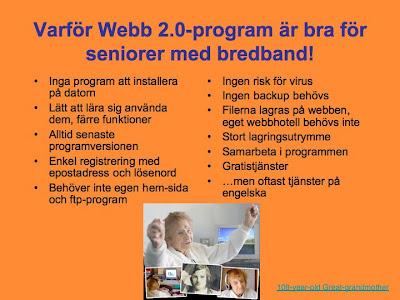 Varför Webb 2.0-program?