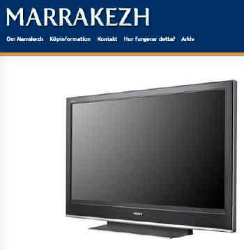 Marrakezh - Dagens fynd