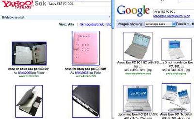 SearchBoth Google och Yahoo