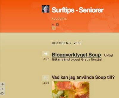 Soup.io - lättanvänd blogg