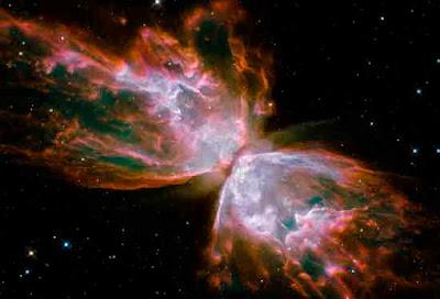 Foto från Hubbles rymdteleskop