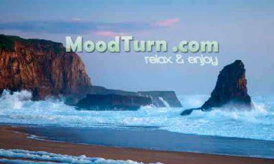 Strand med vattenljud hos MoodTurn