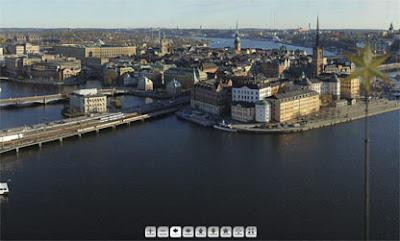 Mats Ögren/Panoramafoto av Stockholm