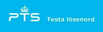 Testa lösenord hos PTS