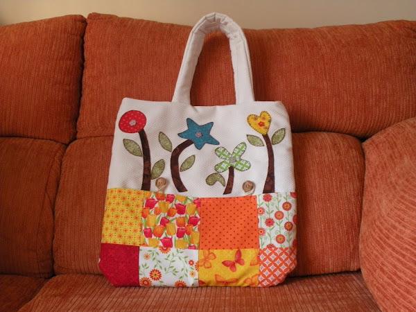 Bolso patchwork 2 aprender manualidades es - Manualidades patchwork bolsos ...