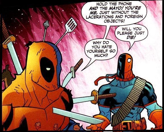 ComicPanelsOfTheWeek  Deadpool Vs Deathstroke   G33K Life