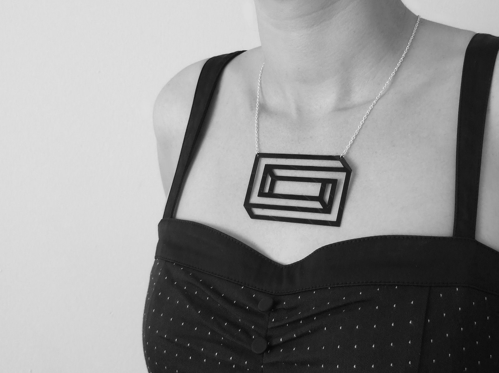 Aroha Silhouettes jewellery made from recycled vinyl records - featured on Much Music Canada blog