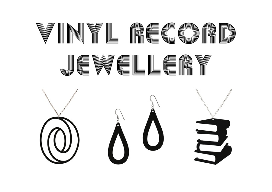 Aroha Silhouettes Vinyl Record Jewellery Look Book Lookbook