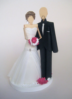 sjcarothers1 On Etsy {Paper Cake Topper by Concarta}