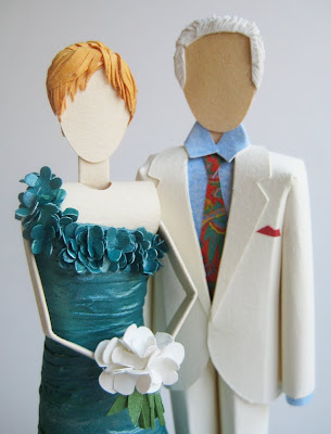 cyndi2 On Etsy {Paper Cake Topper by Concarta}