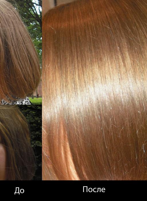 Маска от сухих кончиков секущихся волос
