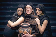 Actresses portraying The Libation Bearers