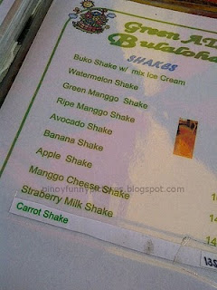 mango strawberry shake