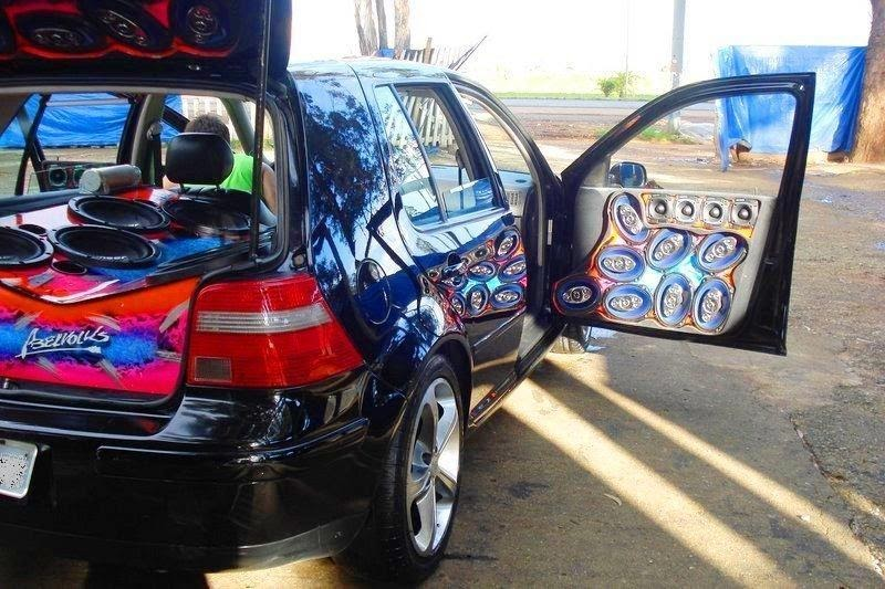 Volkswagen Golf Com Som Automotivo Fotos Jj Carros