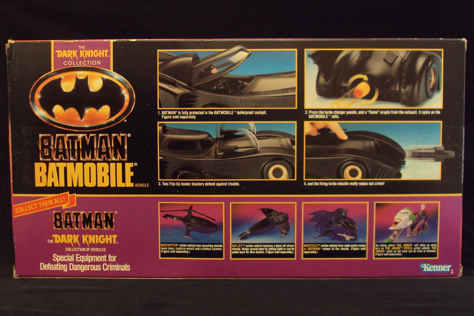 Car Lots In Kenner >> Toy A Day: #2 by 3B Batman: The Dark Knight Collection, Batmobile