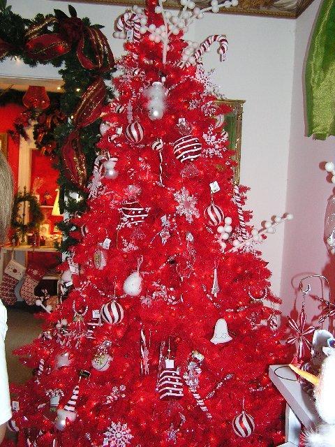 Kathy K Red Tree